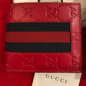 Guccissima Classic Red Wallet🤭🔥🔥